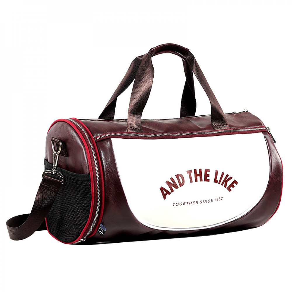 Спортивная сумка U-Power And The Like (Burgundy and White)