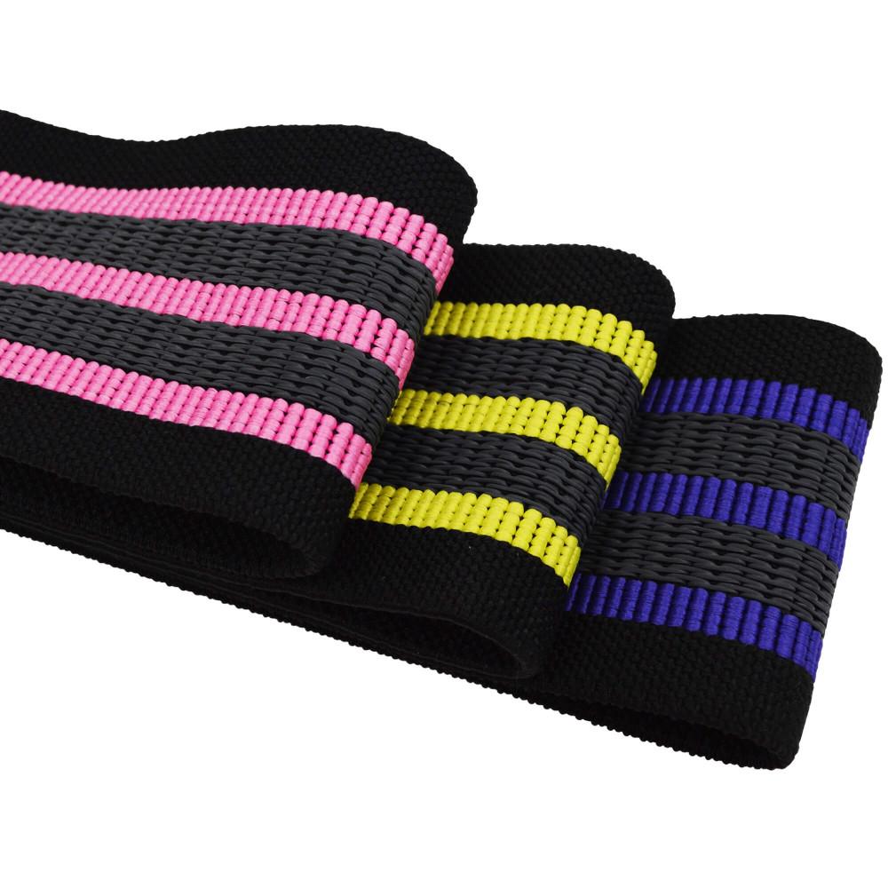 Набор из 3-х тканевых фитнес резинок U-Powex Pro