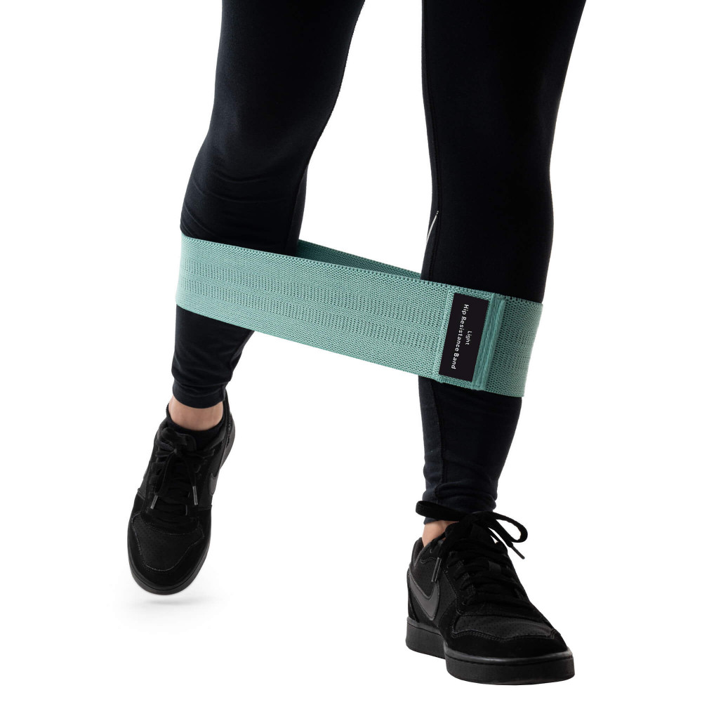 Фитнес резинка Zakerda Hip Resistance Band (Мятная 8-14 кг)
