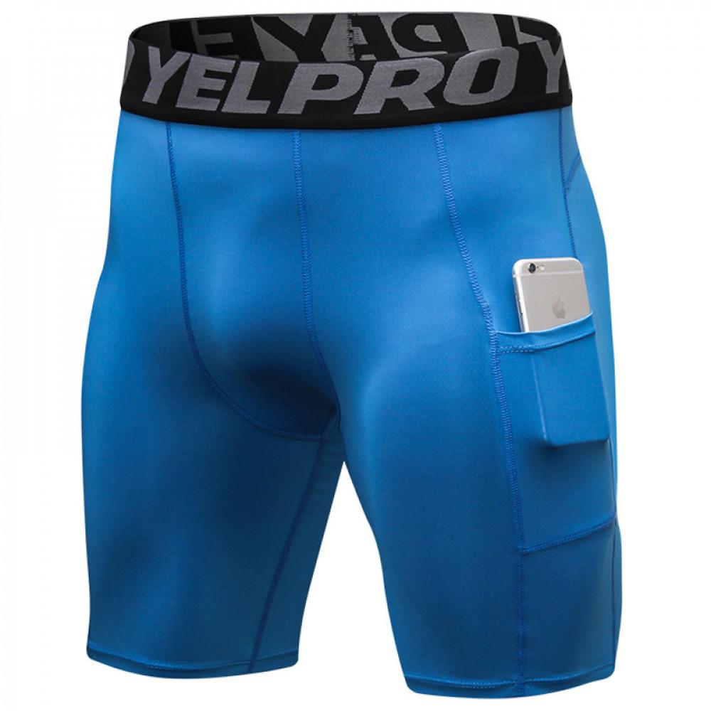 Мужские тайтсы U-Power YEL PRO (Blue)