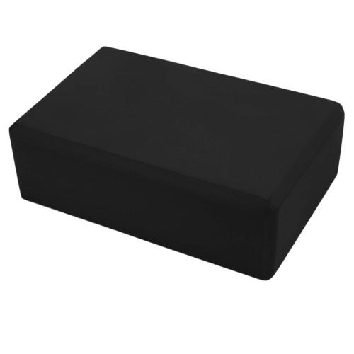 Блок для йоги U-Power Eva (Black)