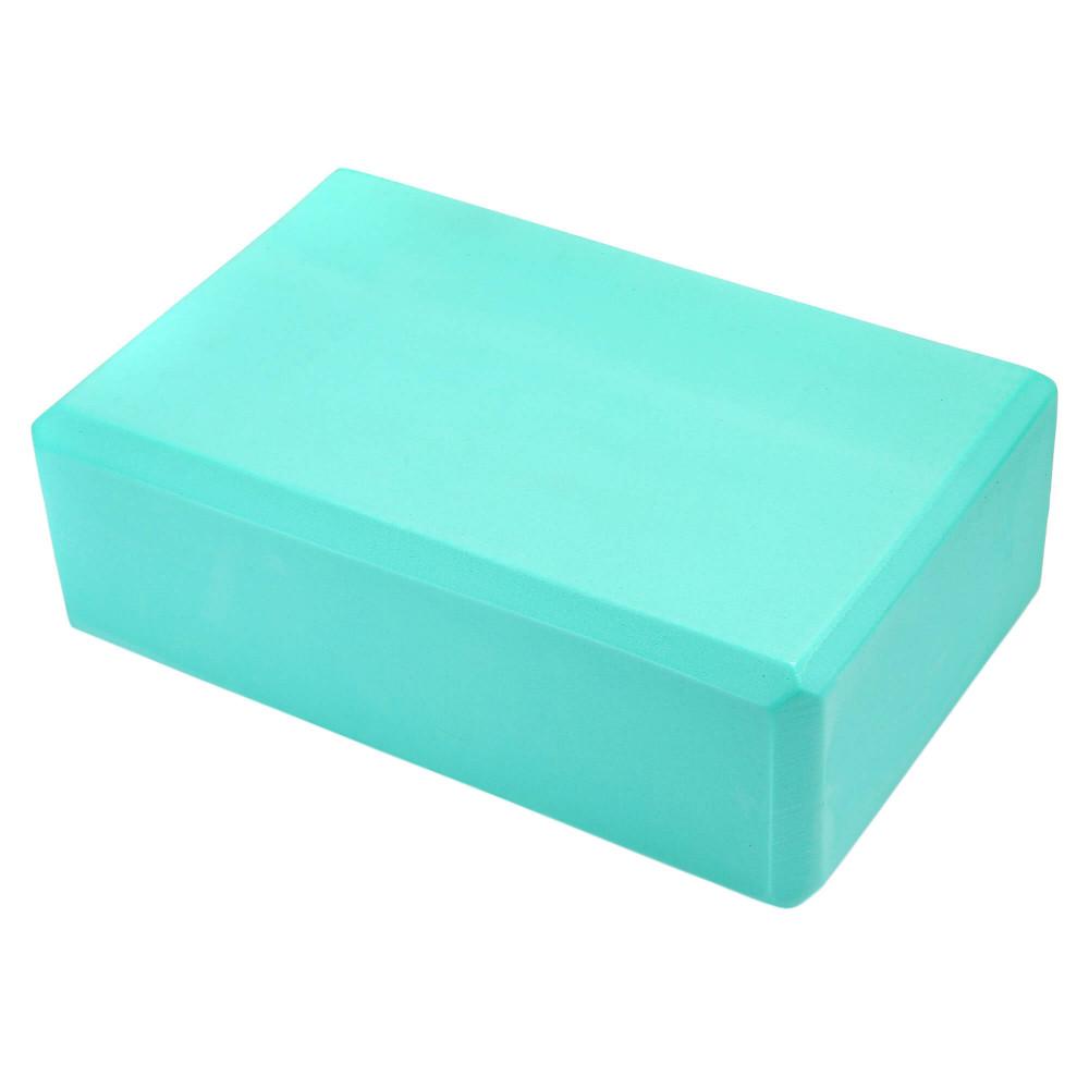 Блок для йоги U-Power Eva (Turquoise)