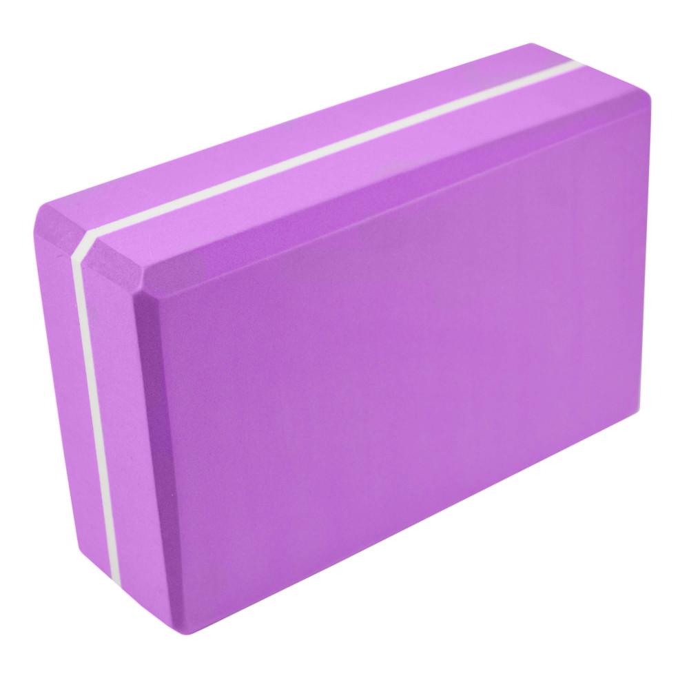 Блок для йоги U-Power Viola (Purple)
