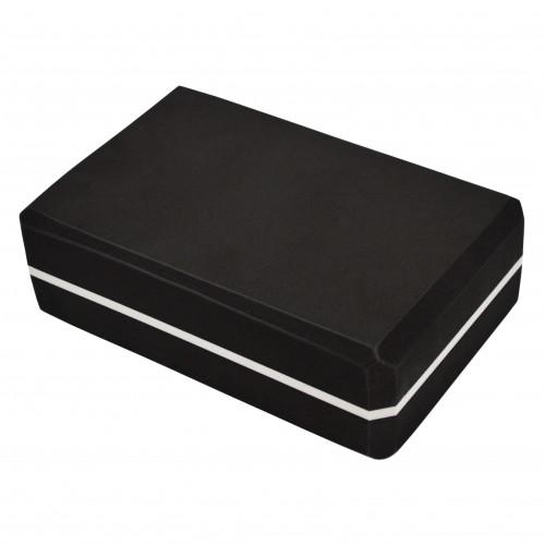 Блок для йоги U-Power Viola (Black)