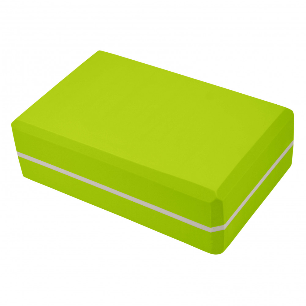 Блок для йоги U-Power Viola (Light Green)