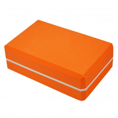 Блок для йоги U-Power Viola (Orange)