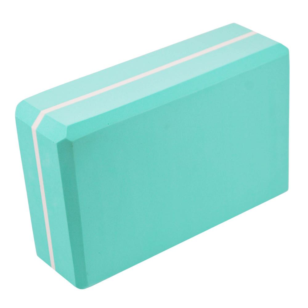 Блок для йоги U-Power Viola (Turquoise)