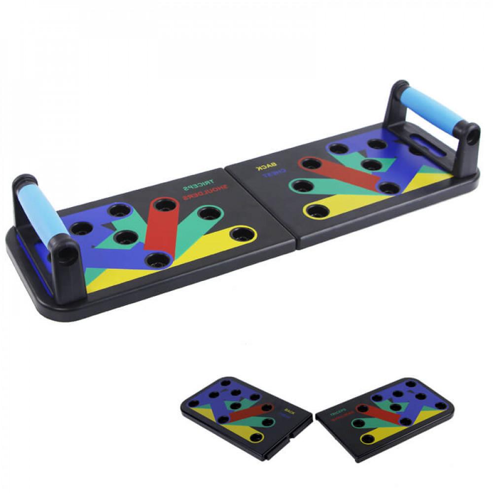 Платформа с упорами для отжимания U-Power Push Up Rack Board 9 в 1