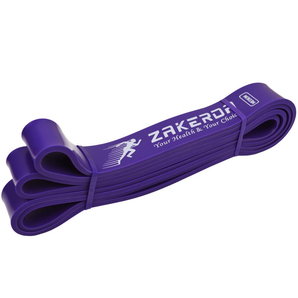 Гумова петля Zakerda (Фіолетова 16-39 кг)