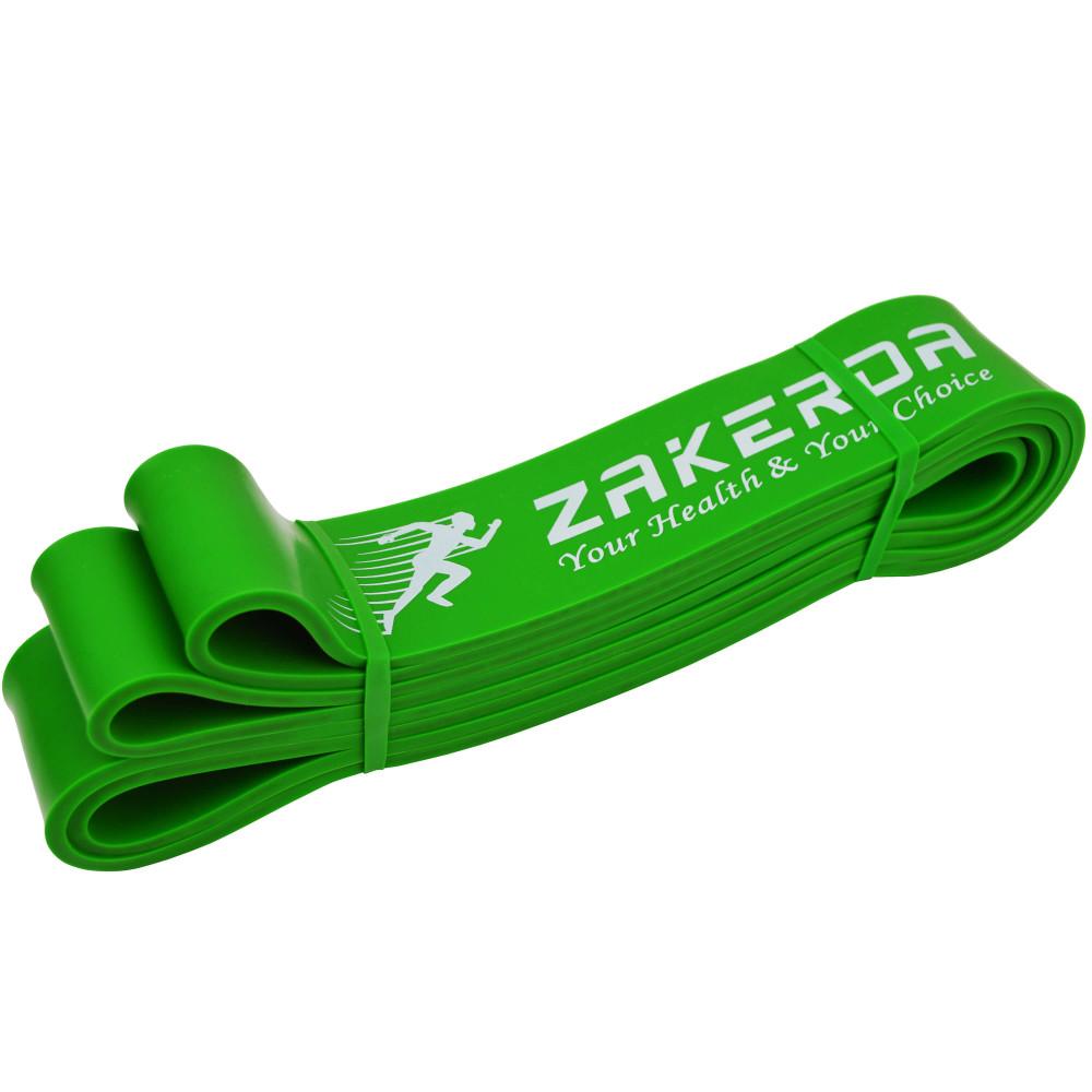 Резиновая петля Zakerda (Зеленая 23-57 кг)