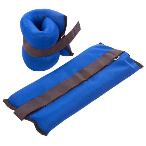 Обважнювачі для ніг і рук U-Power 2 х 1.75 кг (Blue)