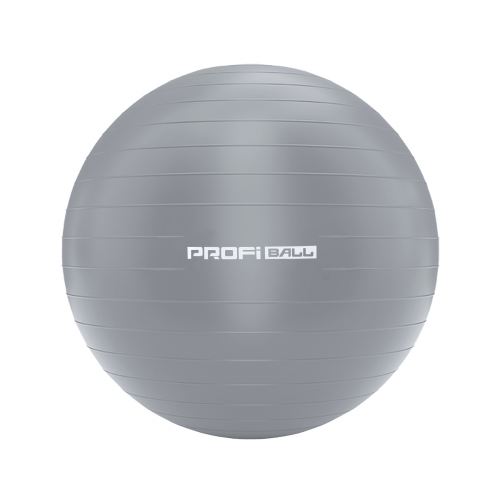 М'яч для фітнесу U-Power Fit Ball 55 см (Silver)