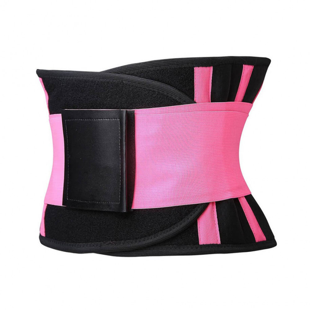 Фітнес пояс U-Power (Pink)