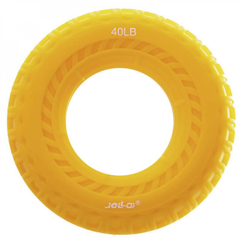 Еспандер кистьовий U-Power Jello Speed 18 кг (Yellow)