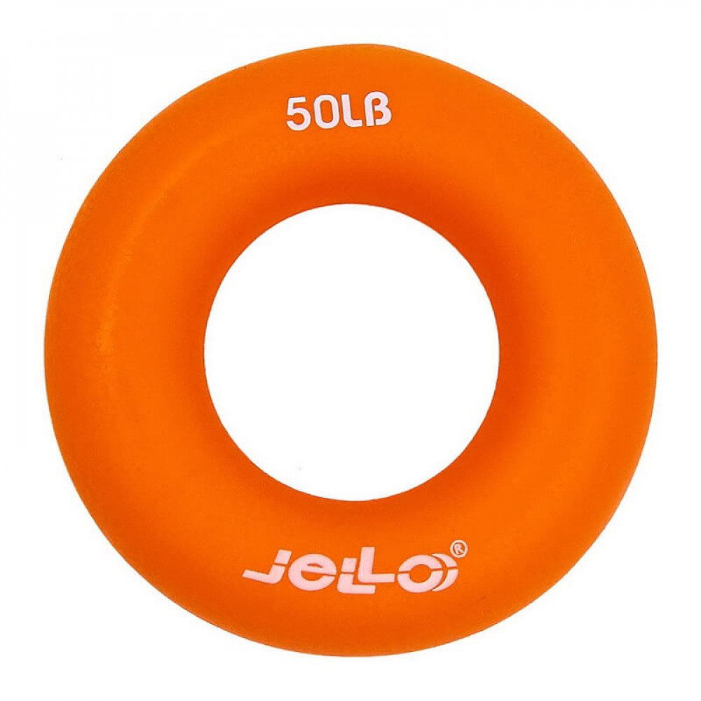 Эспандер кистевой U-Power Jello Ring Grip 22 кг (Orange)