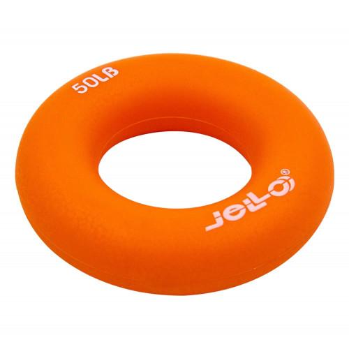 Еспандер кистьовий U-Power Jello Ring Grip 22 кг (Orange)