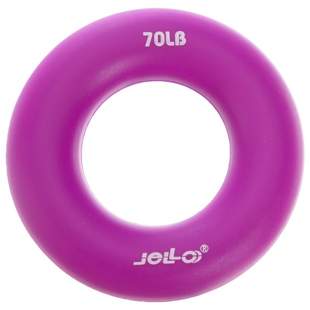 Еспандер кистьовий U-Power Jello Ring Grip 31 кг (Purple)