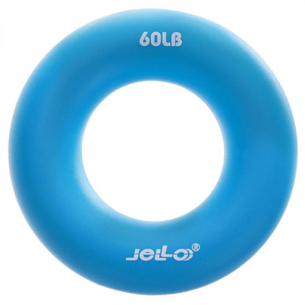 Еспандер кистьовий U-Power Jello Ring Grip 27 кг (Blue)