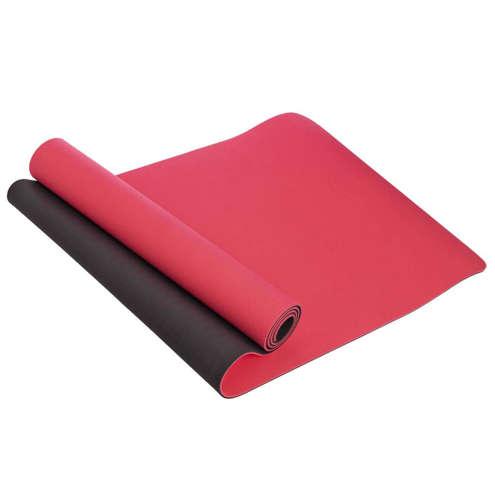 Килимок для йоги U-Power Tessa (Red-black)