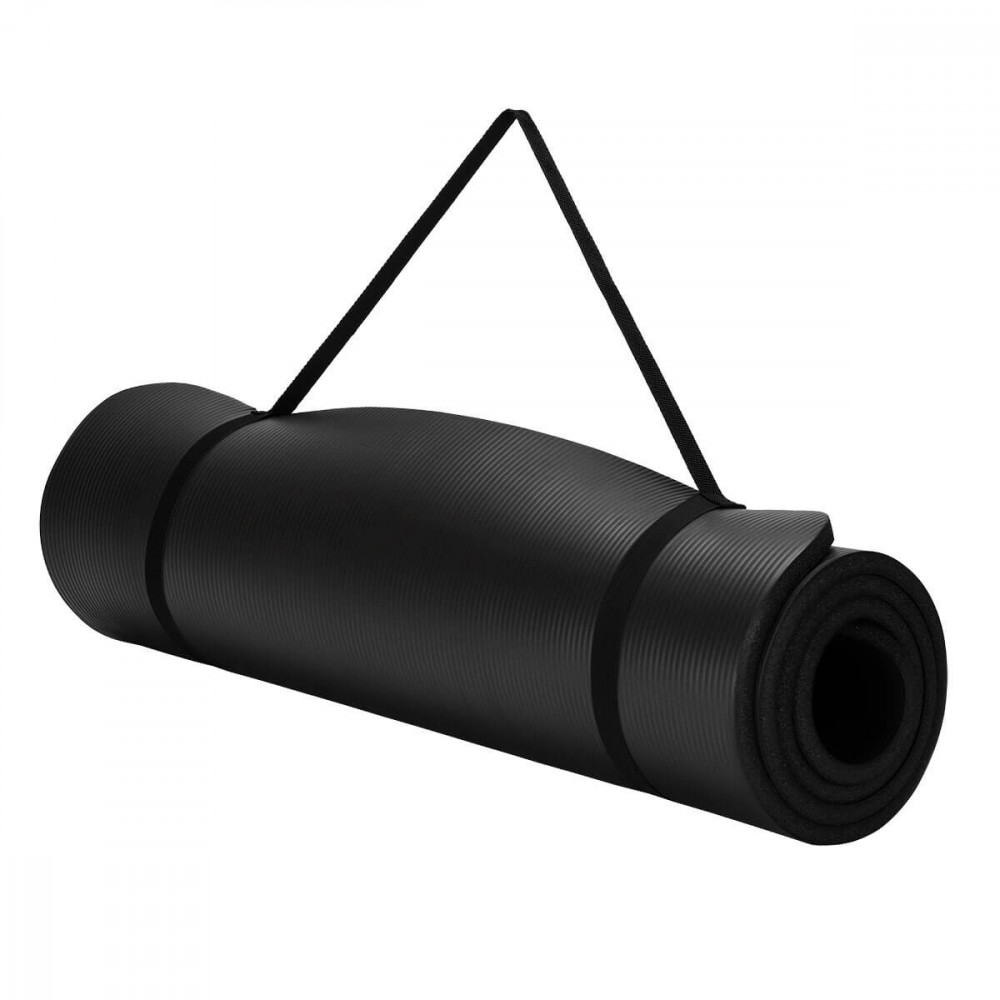 Коврик для йоги U-Power Soft (Black)