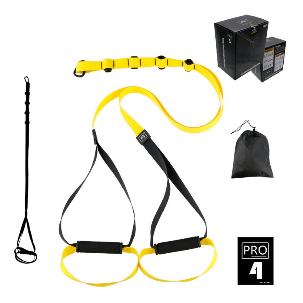 Петли TRX для функционального тренинга U-Power Training System PRO P3-4 (Yellow)