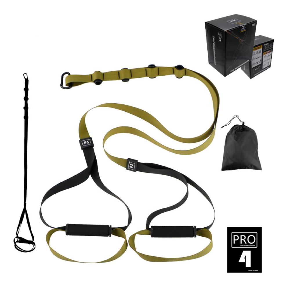 Петлі TRX для функціонального тренінгу U-Power Training System PRO P3-4 (Khaki)