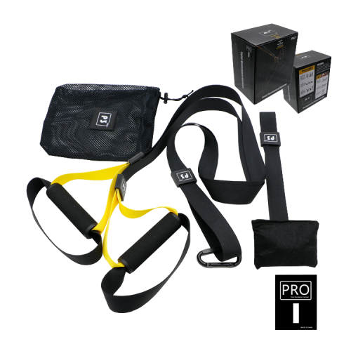Петли TRX для функционального тренинга U-Power Training System PRO P3-1 (Yellow)