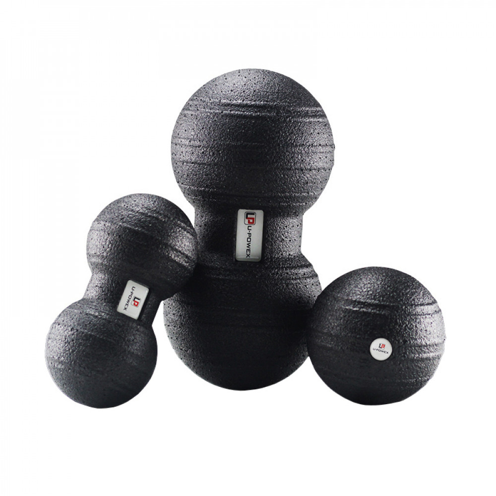 Набір масажних м'ячів для фітнесу арахіс U-Powex EPP (Комплект з 3 штук)