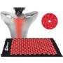 Массажный акупунктурный коврик Hop-Sport (Red)