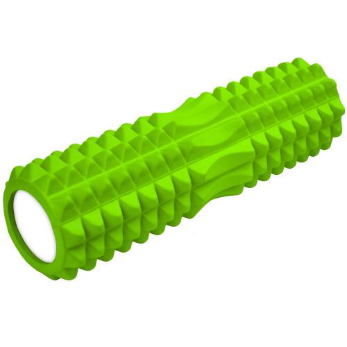 Масажний ролик U-Power CrossFit 45x14 см (Light Green)