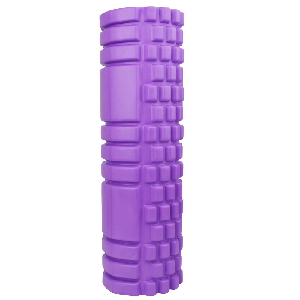 Масажний ролер U-Power System 45x15 см (Violet)