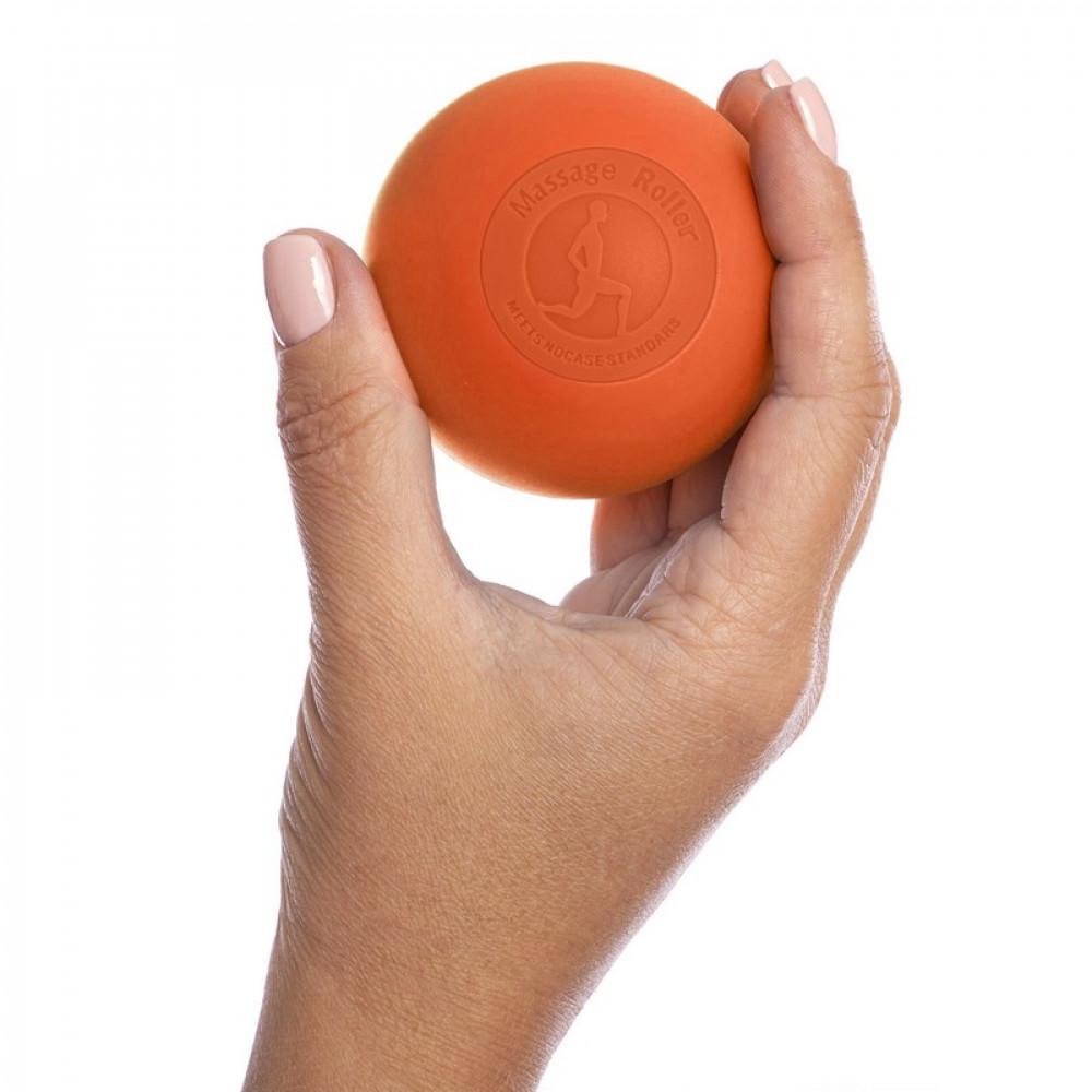 Силиконовый массажный мяч U-Power Acupressure 6.3 см (Orange)