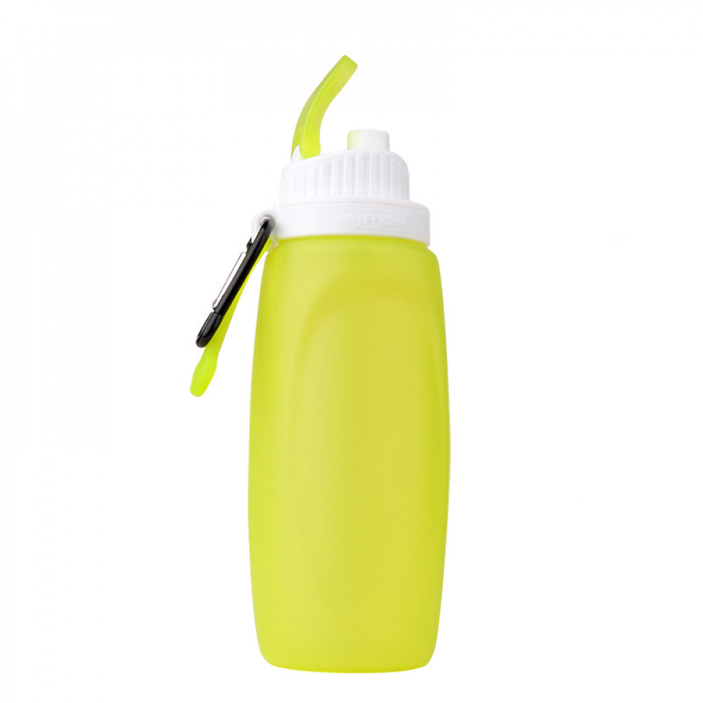 Складная спортивная бутылка MyFriday 320 мл (Light Green)