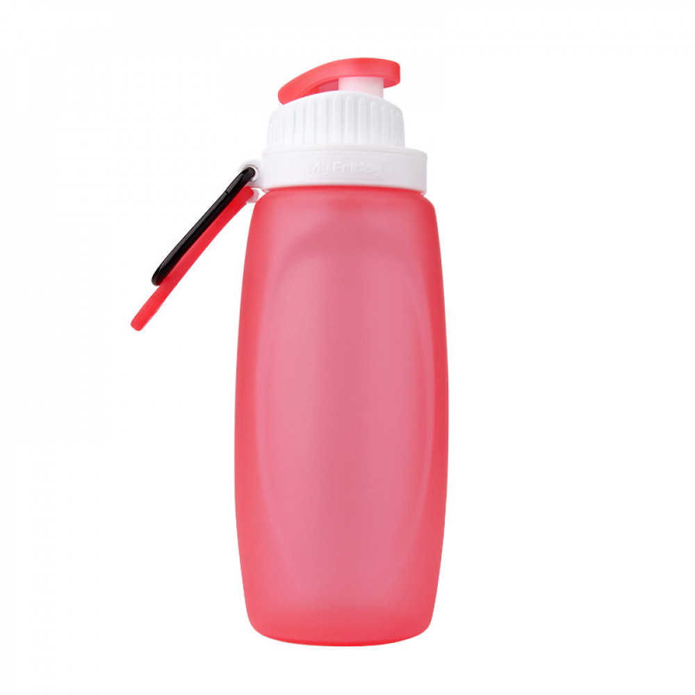 Складная спортивная бутылка MyFriday 320 мл (Red)
