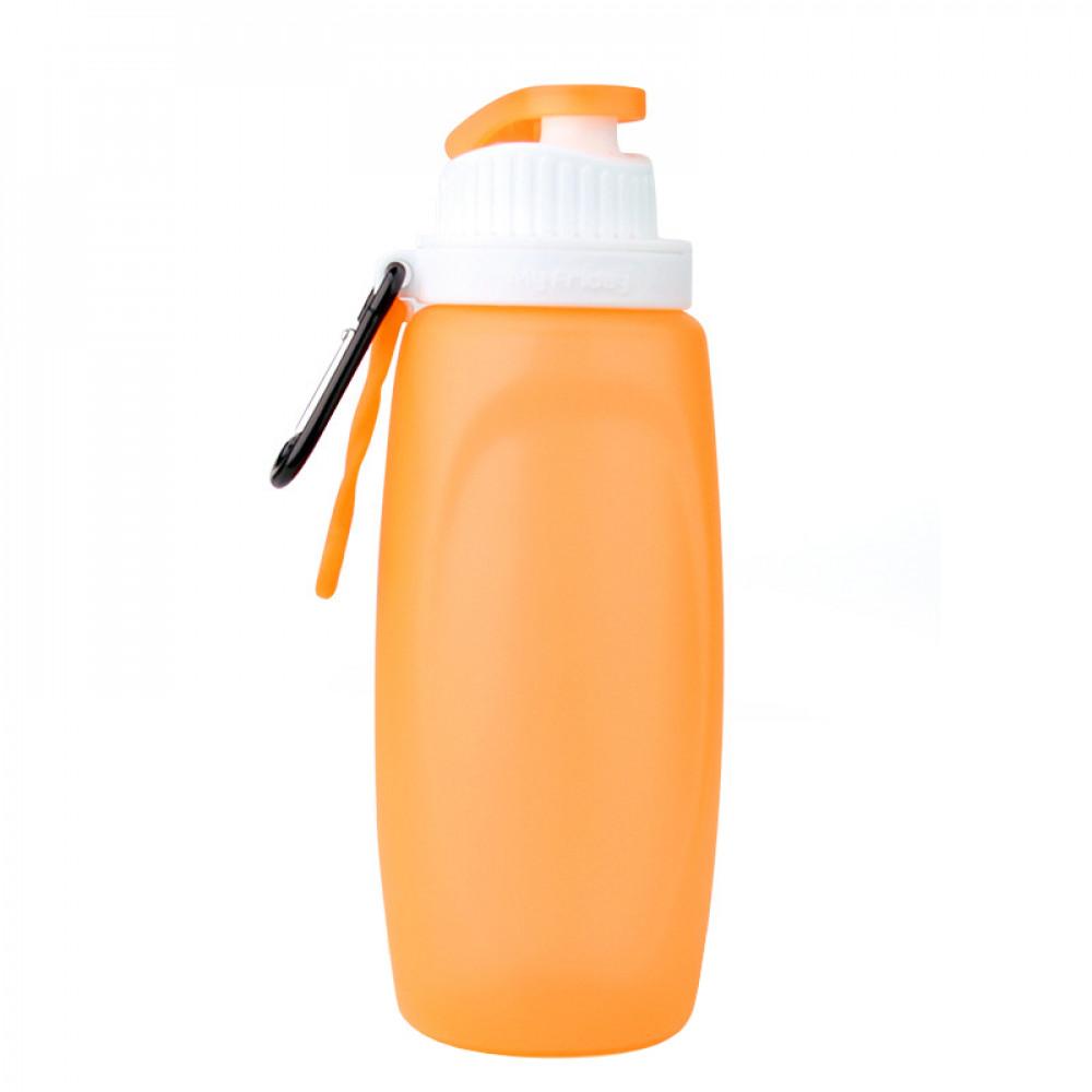 Складная спортивная бутылка MyFriday 320 мл (Orange)
