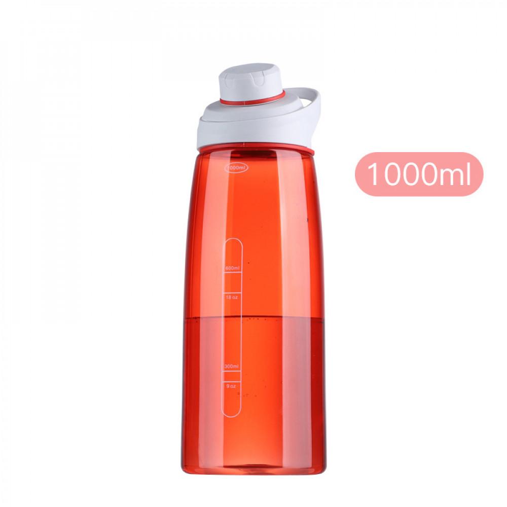 Спортивна пляшка для води 1000 мл U-Power (Orange)