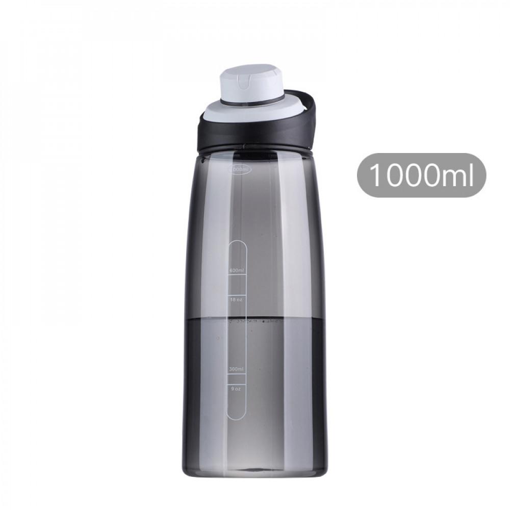 Спортивна пляшка для води 1000 мл U-Power (Black)