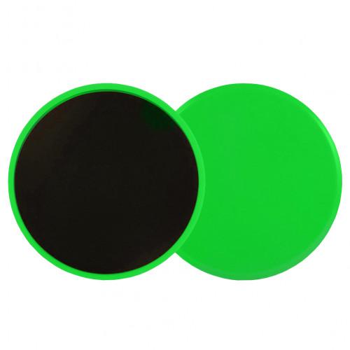Диски для скольжения U-Power Life (Light Green)