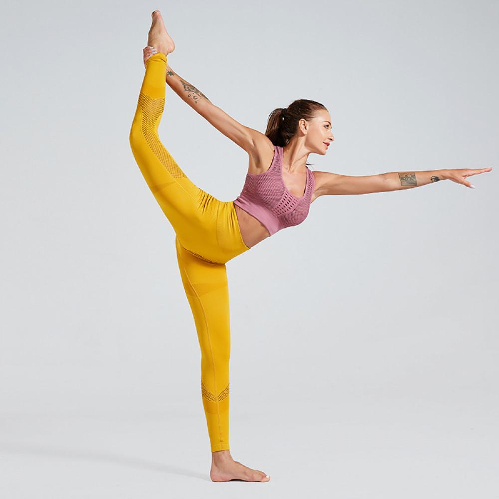 Легінси Go Fitness (Yellow)