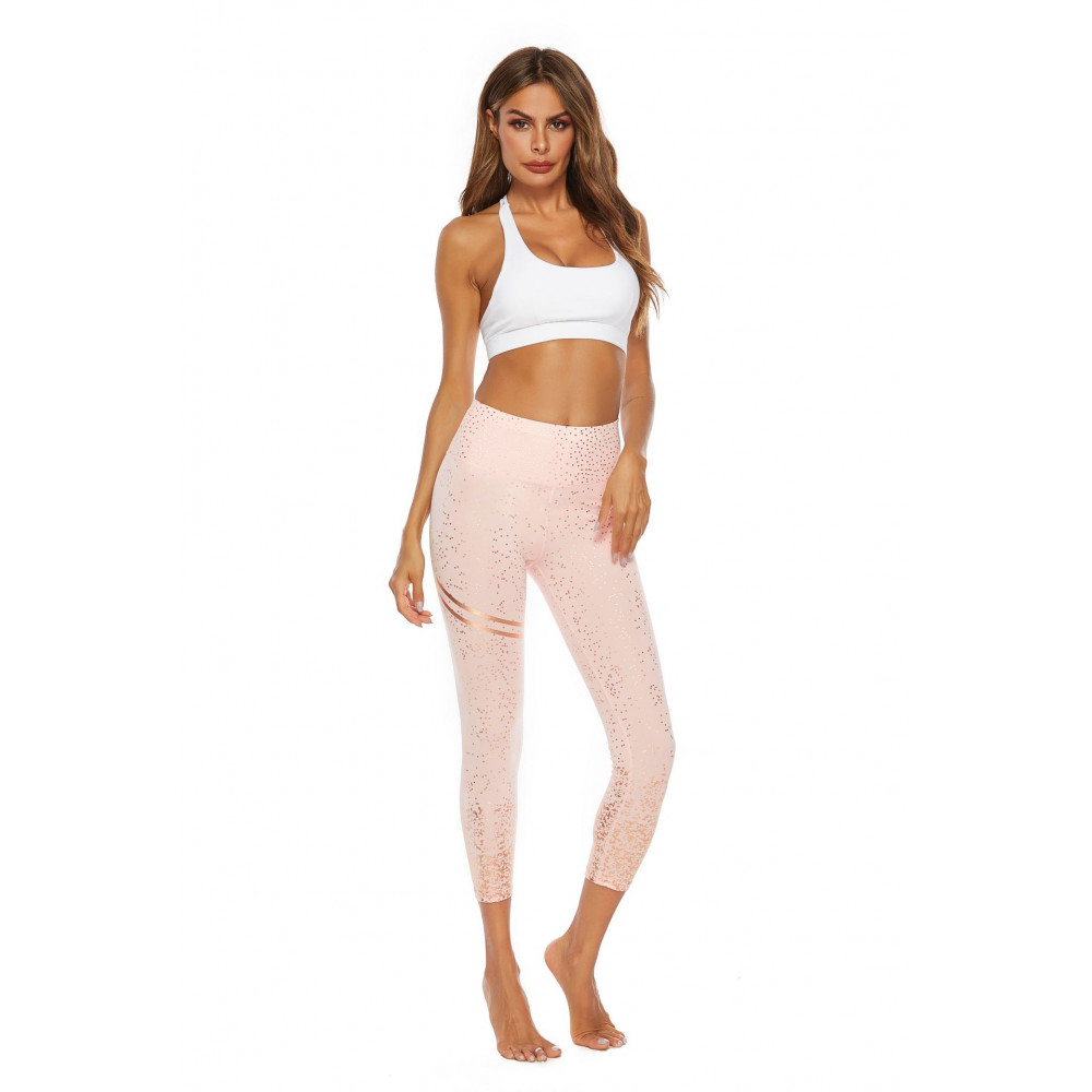 Легінси U-Power Fitness Star (Pink)