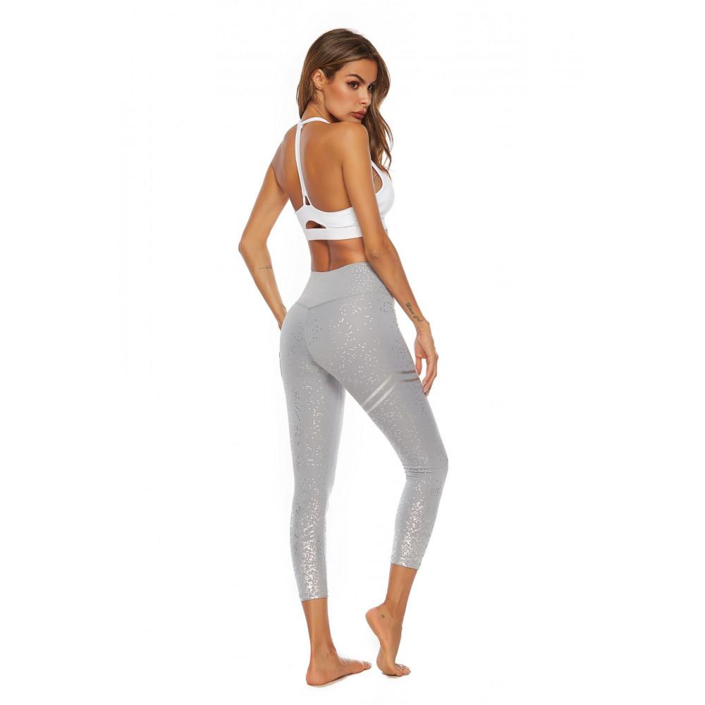 Легінси U-Power Fitness Star (Gray)