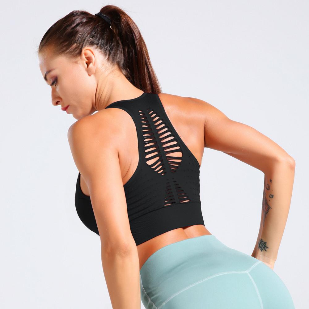 Топ U-Power Fitness Aimee (Black)