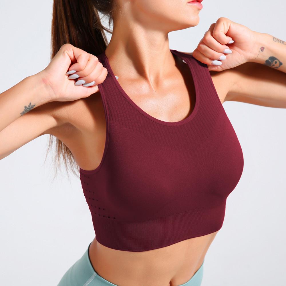 Топ U-Power Fitness Aimee (Burgundy)