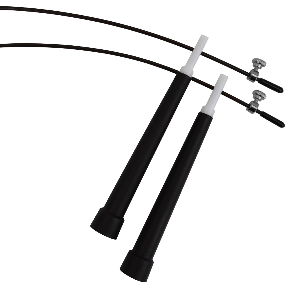 Скакалка скоростная U-Power Crossfit (Black)