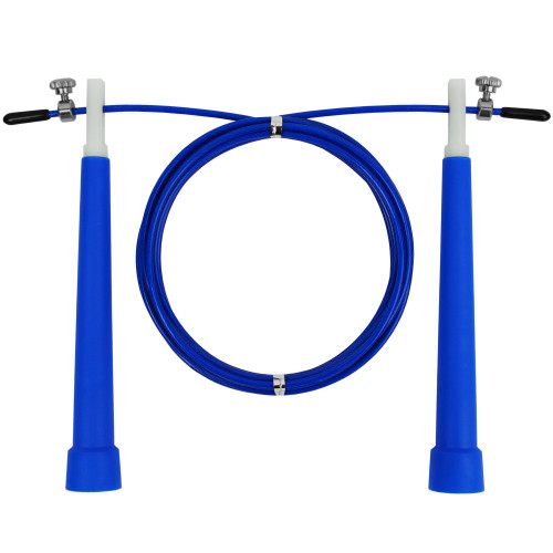 Скакалка скоростная U-Power Crossfit (Blue)