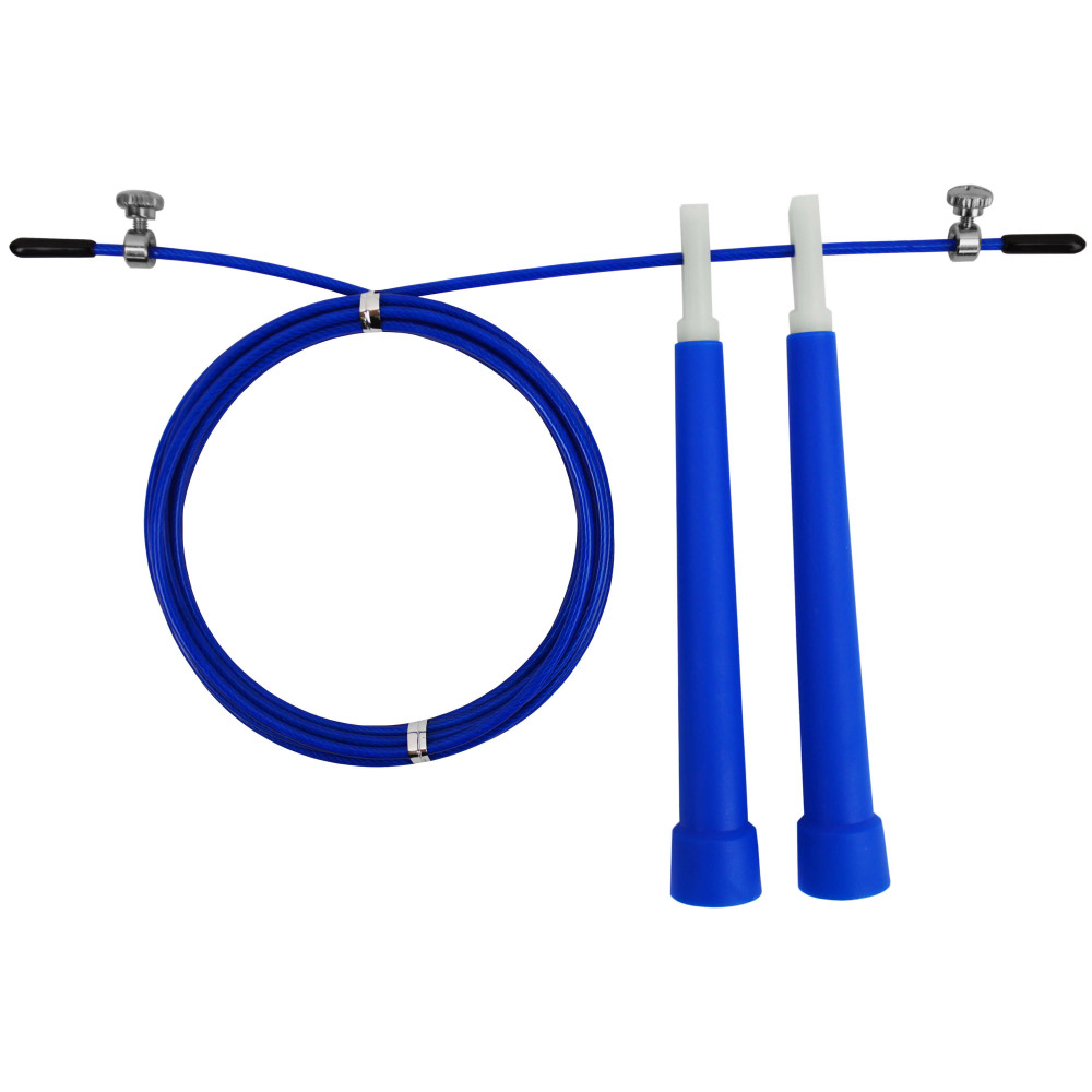 Скакалка швидкісна U-Power Crossfit (Blue)