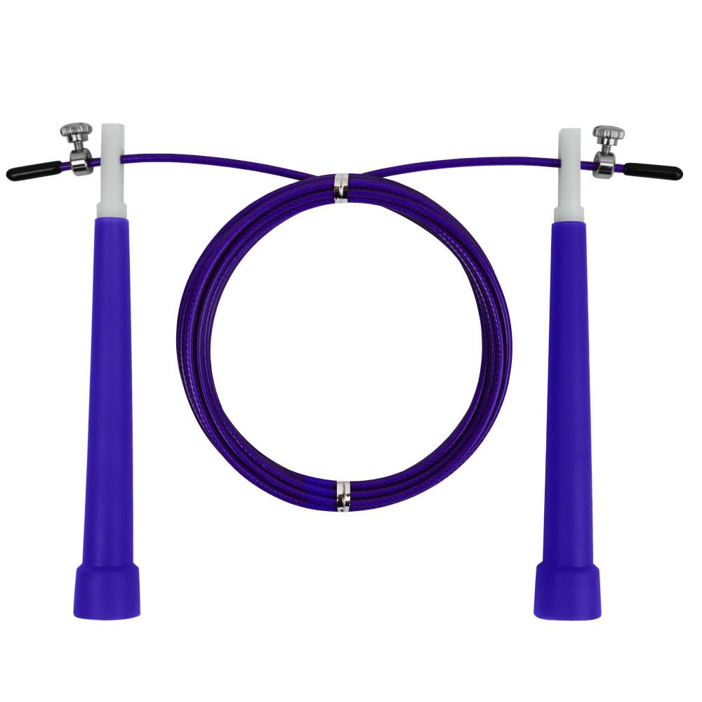 Скакалка скоростная U-Power Crossfit (Violet)