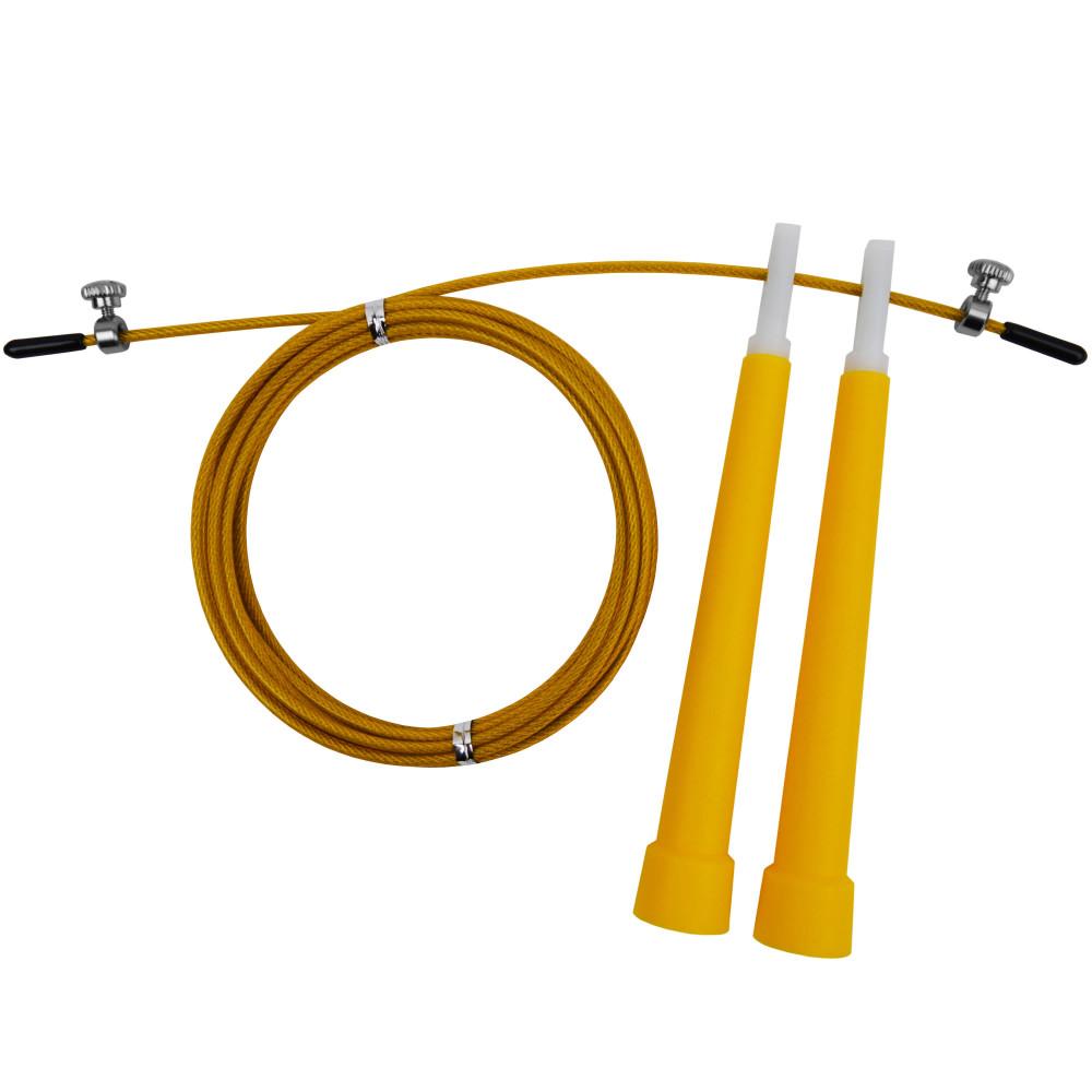 Скакалка скоростная U-Power Crossfit (Yellow)