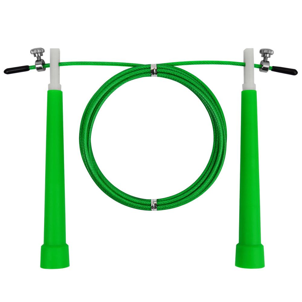 Скакалка скоростная U-Power Crossfit (Green)