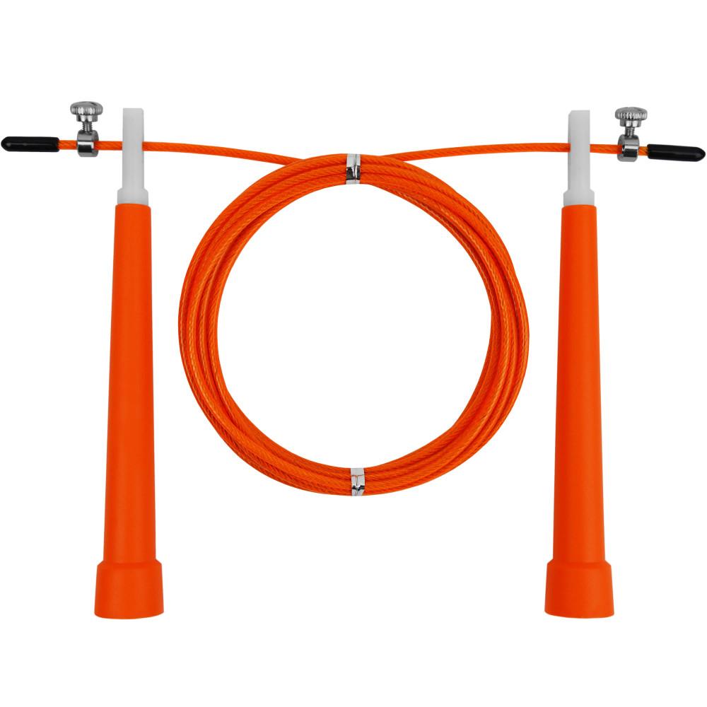 Скакалка швидкісна U-Power Crossfit (Orange)